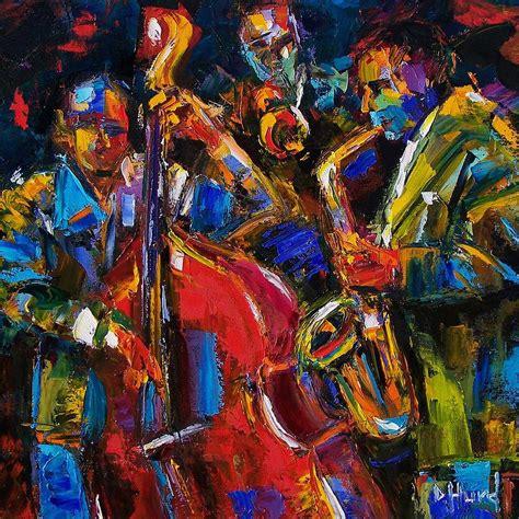 jazz artists biography jazz painting by debra hurd