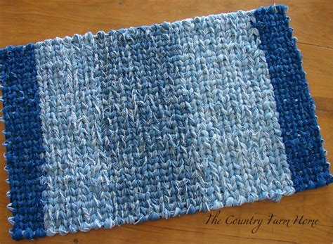Weaving A Rag Rug by The Country Farm Home Rag Rug Weaving Tutorial And Tips