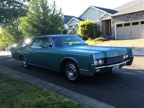 1966 lincoln continental 2dr coupe 462 v8 eng low 8k