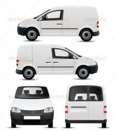 Stock Vector   GraphicRiver White Commercial Vehicle