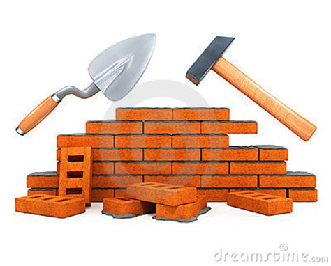 house builder tool darby and hammer building tool house construction stock photos image 4715553