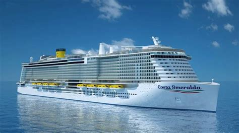 costa crociere interni costa smeralda interni e caratteristiche nuova nave costa