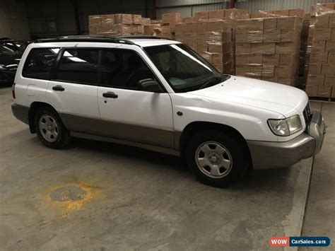 old car manuals online 2001 subaru forester electronic valve timing subaru forester for sale in australia