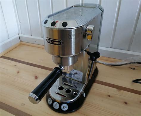 espresso maschine delonghi im test die de longhi ec680 dedica siebtr 228 ger