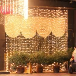 600 800 1000 led icicle curtain lights 6 8 10 3m wedding
