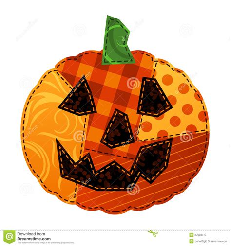 Patchwork Pumpkin - patchwork pumpkin stock vector image of green pumpkin