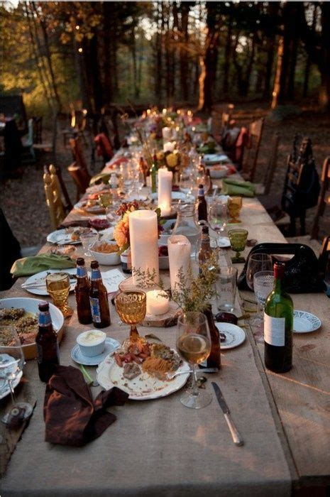 outdoor table setting outdoor table setting party ideas pinterest