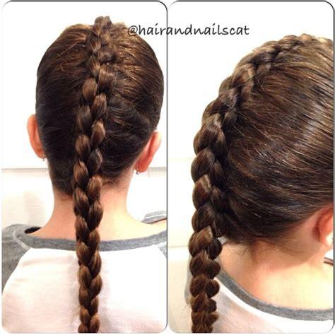 who braids christina johnson hair four strand box french braid hairandnailscat pinterest