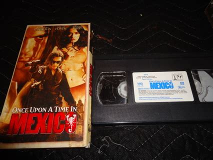Vcd Original Once Upon A Time In Mexico Free Once Upon A Time In Mexico Vhs Vhs Listia