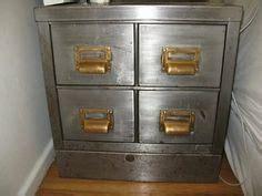 Metal File Cabinets   Industrial Office / Vintage