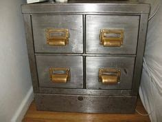 Metal File Cabinets   Industrial Office / Vintage