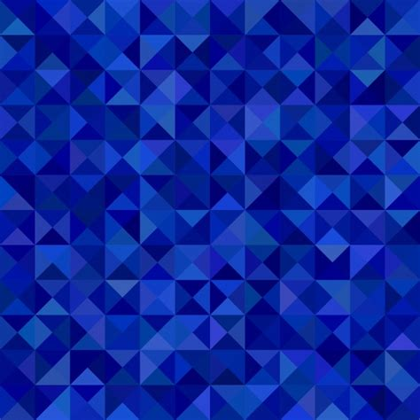 blue pattern background vector geometrical abstract triangle mosaic pattern background