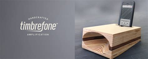 Handmade Audio - review timbrefone passive wood speaker iphonelife