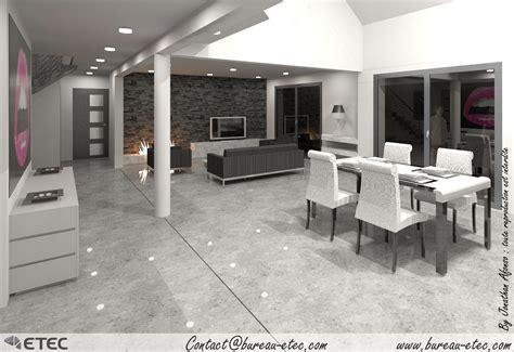decoration salon maison deco salon sejour contemporain 3 maison contemporaine