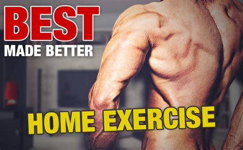 the best home back exercise period