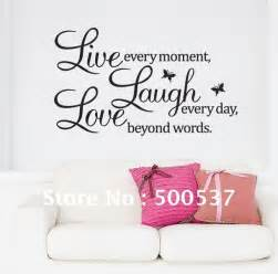 Wall Stickers Live Laugh Love Live Laugh Love Wall Quotes Quotesgram