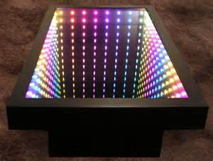 Infinity Mirror Coffee Table Optical Illusions The Holographic Mirage And The