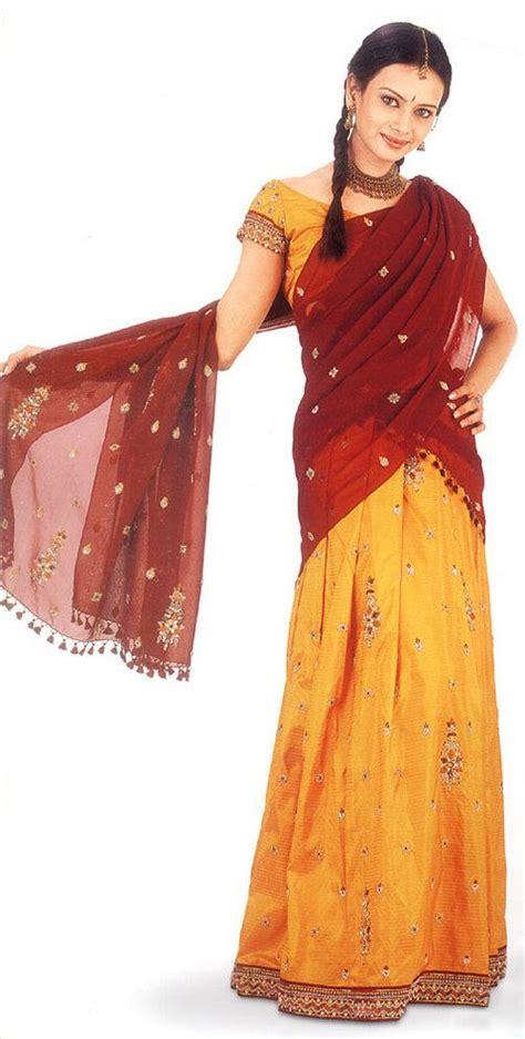 pattern dressmaker chennai tamil nadu half sari half saree in chennai tamil nadu india
