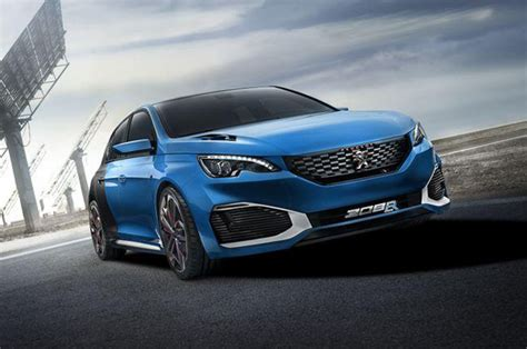 Most Powerful Awd Cars by Most Powerful Hatch Peugeot 308 R Hybrid Unveiled