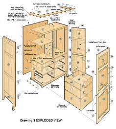 How To Build A Armoire Free Furniture Plans Armoire Woodworker Magazine
