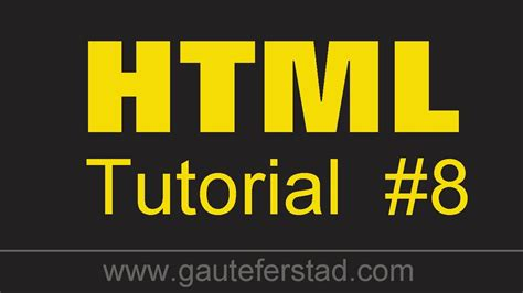 html tutorial text color html tutorial 08 changing the background color text color