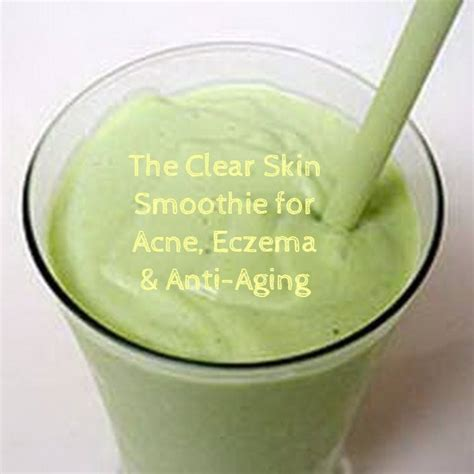 Green Smoothie Acne Detox by Green Smoothie Recipes For Acne