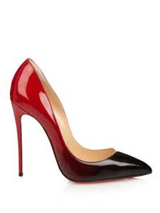 Christian louboutin pigalle follies ombr 233 pumps in black lyst