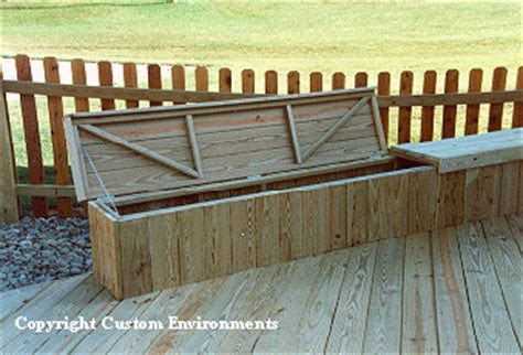 deck storage bench plans storage bench for deck pool deck storage pinterest