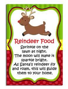 Items similar to reindeer food printable labels instant download on