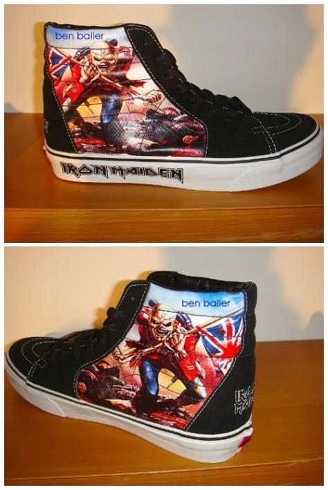 Sepatu Vans Iron Maiden vans iron maiden salomon sceau