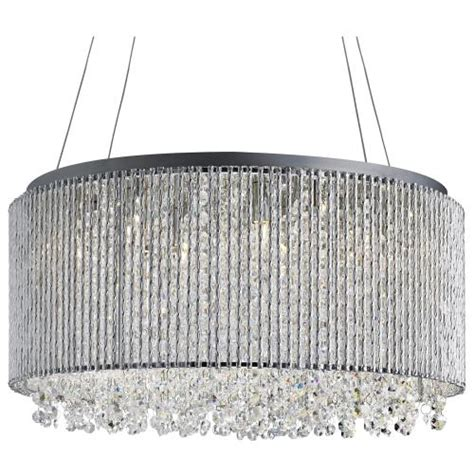 Home Interior Parties Products by Beatrix Drum Crystal Pendant 4048 8cc The Lighting
