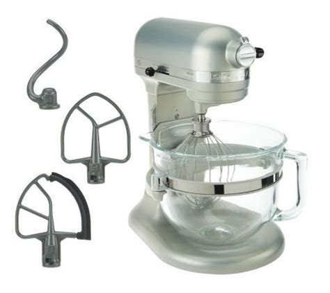 KitchenAid 6 qt 575 Watt Glass Bowl Lift Stand Mixer w