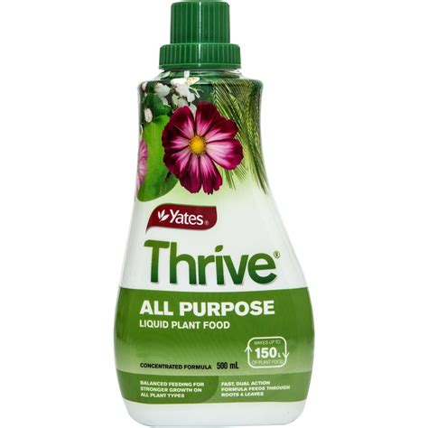 E Liquid Thrive Original 0 Nikotin yates 500ml thrive all purpose liquid plant food bunnings warehouse
