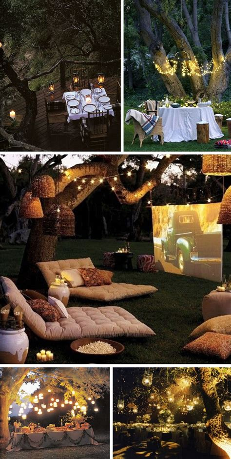 backyard movie ideas low budget garden party decorations ideas for garden