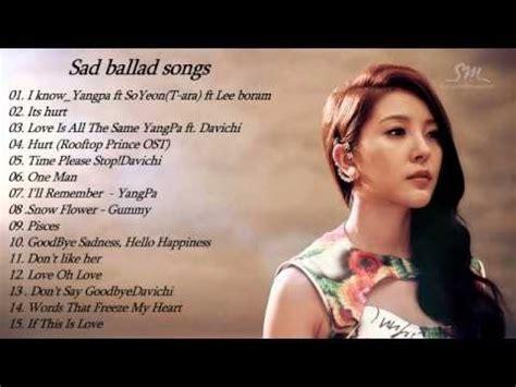 best sad songs sad ballad songs kpop sad songs of korean top 10 sad
