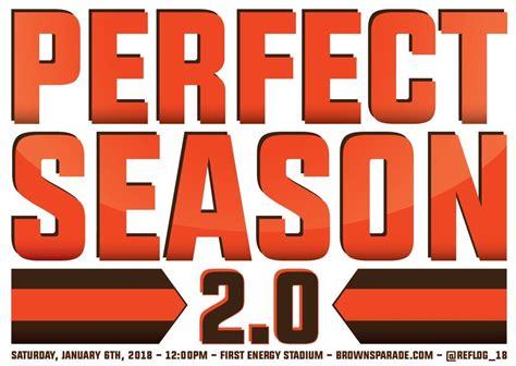 Browns Perfect Season Parade reaches Kickstarter