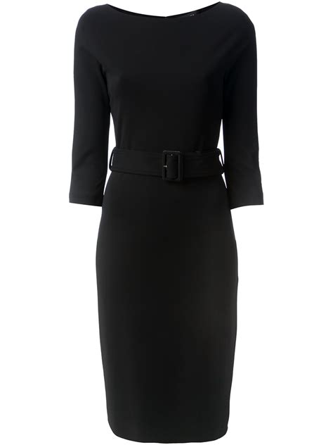 gucci fitted dress  black lyst
