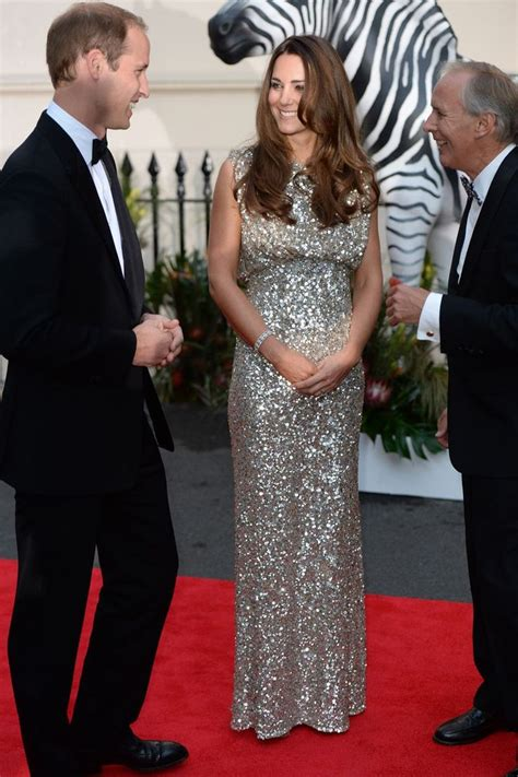 Holyan Dress kate middleton sparkles in stunning evening gown as she
