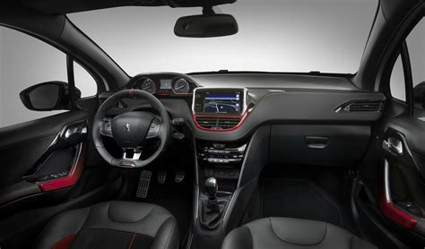 peugeot 208 gti inside peugeot 208 gti review 2013 on