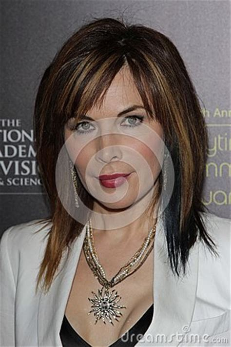 days of our lives hairstyles 2015 lauren koslow at the 39th annual daytime emmy awards