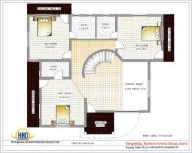 Home Blueprints by India Home Design With House Plans 3200 Sq Ft Indian
