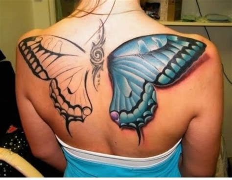 colored wings tattoo 25 best butterfly tattoos designs for dzinemag