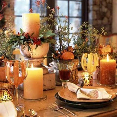 Thanksgiving Tablescapes Design Ideas 20 Gorgeous And Awesome Thanksgiving Table Decorations Home Design And Interior