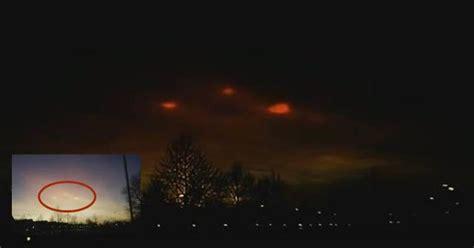 strange lights in the sky the netherlands ufo