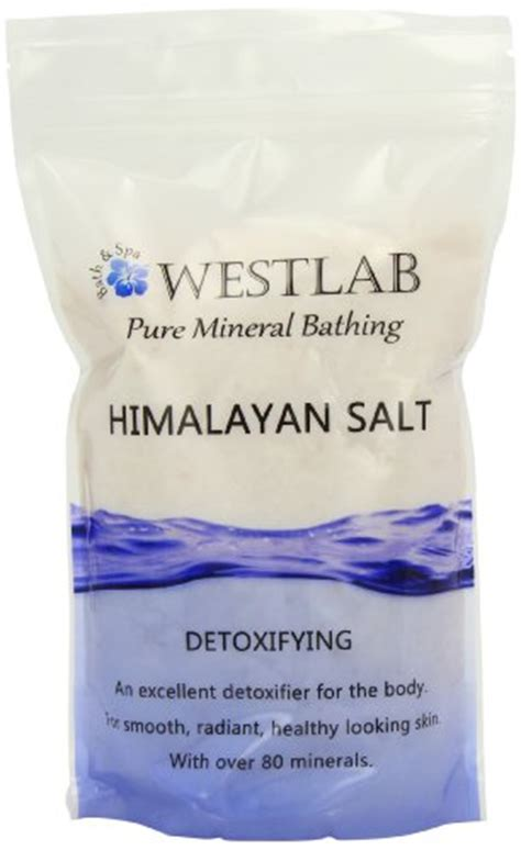 Himalayan Salt Bath Detox Side Effects by Westlab Himalayan Pink Salt Resealable Stand Up Pouch 1kg