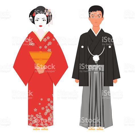 vector flat style illustration of japanese traditional