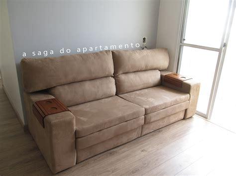 sofa com chaise retratil sof 225 retr 225 til com chaise a saga do apartamento