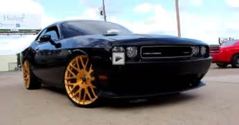 dodge challenger srt8 on forgiatos 24 quot cars