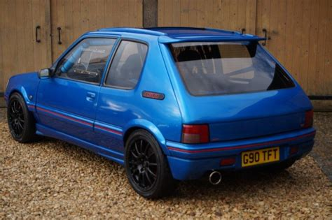 peugeot 205 gti turbo used 1990 peugeot 205 gti for sale in oxfordshire
