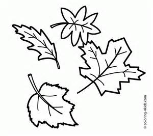 coloring fall leaf autumn coloring pages for preschoolers coloring home